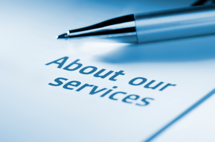 Business Information - About our services document